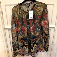 NEW NEXT Ladies Pretty Romantic Embellished Blouse Top 8 10 12 14 16 18  RP£42