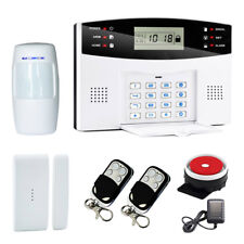 LCD Keyboard Wireless Home GSM Alarm System House Burglar Door Security Systems