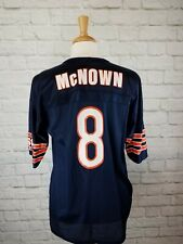 bdd6f9a9854 1990's Vintage NFL Football Chicago Bears Cade Mcnown #8 Jersey Size 36  (SMALL)