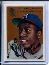 Hank Aaron 2012 Topps Tribute 1994 Archives 1954 Autograph AUTO #35/100