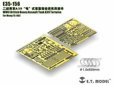 ET Model 1/35 #E35156 British A39 Tortoise Detail Up Set for Meng Model TS-002