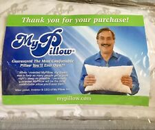 BRAND NEW My Pillow As Seen On TV Roll & GoAnywhere Travel Foam Pillow Washable