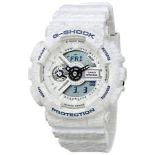 Casio G-Shock White Resin Ladies Watch GMAS110HT-7ACR