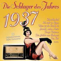 DIE SCHLAGER DES JAHRES 1937 2 CD NEU