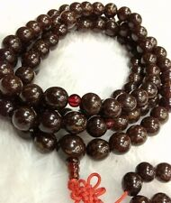 12mm Tibetan Buddhism 108 Flower bodhi Bodhi seeds Mala Necklace