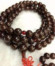 12mm Tibet Buddhism 108 Flower bodhi Bodhi seeds Mala Necklace