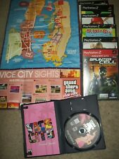 PS2 Video Game Lot ~ 7 Games ~ Splinter Cell Grand Theft Auto Vice City + more