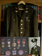 WWII U.S. Army Air Corps Engineers Officer Uniform, Named w/ All Medals