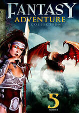 Fantasy-Adventure Collection DVD 5 Movies - Adult owned GOOD USED