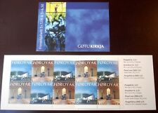 Faroe Stamp Booklet #28 2002 Christmas - The Church at Gøta - Mnh - Excellent!