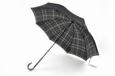 Burberry Umbrella Inside Check Black Ladies Total length 60cm Made in Japan New