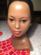 Alexander Backer African American Bust Classic Lady Figurine Vintage 1960s