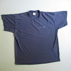 Men's 90s Vintage Blue Nike T Shirt Size xxl
