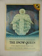 The Snow Queen Errol Le Cain Paperback Naomi Lewis 1981