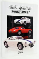 Minichamps Model Car Fully Illustrated A4 Catalogue RE12016 - Resin 1 2016