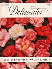 1937 Delineator April - Honeymooner's Map; Your kids may be your fault
