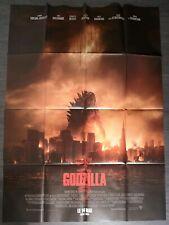 """Affiche cinéma  """" Godzilla """" format 120x160 cm /2014/définitive"""