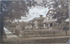 Missoula, Montana MT 1912 Postcard: Gerald Avenue, Residences/Homes