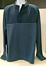 Champion Mens Pullover Long Sleeve Quarter Zip Jacket Size XXL Chest Pocket NEW