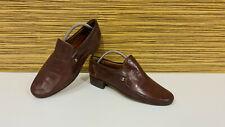 BALLY SUISSE PARAWET Leder Schuhe Halbschuhe Slipper Loafers Gr. 8 = 42 E Braun