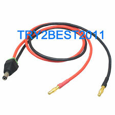 4mm banana plug to 5.5 X 2.1mm DC Power Male Plug charger lead cable for CCTV