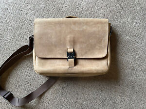 SF Bags Waterfield Executive Leather Messenger