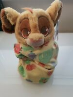 Disney Parks Lion King Baby Simba in a Blanket Plush NEW WITH TAGS