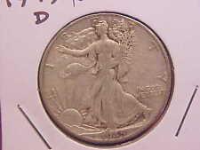 1945 D LIBERTY WALKING HALF DOLLAR - XF+ - SEE PICS! - (N1727)