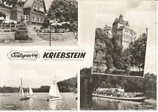 Talsperre Kriebstein, Lauenhain bei Waldheim, Mittweida, HO-Gaststätte, Boot