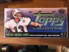 New sealed Topps 1999 nfl football complete 357 card set includes 27 rookies