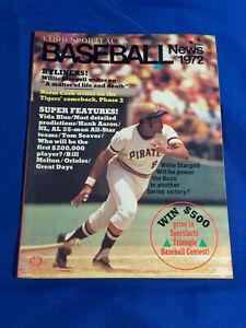 Cord Sportsfacts Baseball News 1972 Magazine