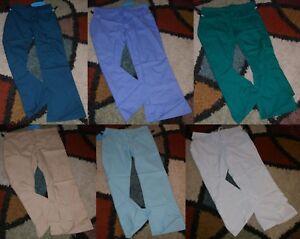 Frederick Drawstring Scrub Pant Elastic back 3 Pockets Sz L - 2X  Style #511