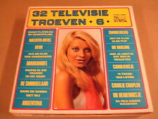 TELSTAR 2-LP WITH SEXY GIRL ON COVER / 32 TELEVISIE TROEVEN 6