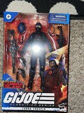G.I. Joe Classified Series Cobra Trooper Action Figure Target Exclusive in hand