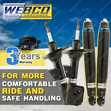 Front Rear Webco HD Elite Shock Absorbers for NISSAN MAXIMA J31 3.5 ST-L Ti Sdn