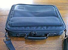 Targus Bag Laptop Briefcase Messenger 15'' Black Soft Shoulder Strap Expandable