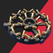 32 Heads Jet Burner Natural Gas Round Shape Wok Burner-Cast Iron & Brass New