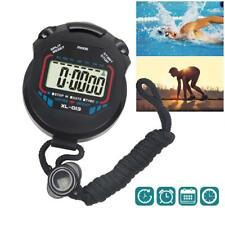 Clock Alarm Counter Timer Digital Handheld Sports Stopwatch Stop Watch Time