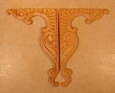 Embossed Wood Applique / Onlay #663 5 3/4 X 8 5/8