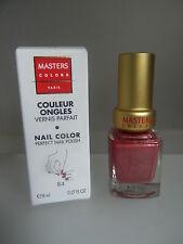 MASTERS COLORS COULEUR à ONGLES VERNIS PARFAIT 84 rose litchee NAIL COLOR polish
