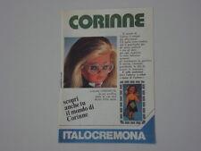 advertising Pubblicità 1976 ITALOCREMONA CORINNE
