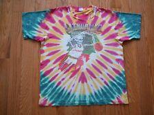 Vintage Grateful Dead 1992 Lithuania Basketball T-Shirt Tie-Dye Size XL Olympics