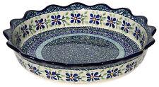 "Polish Pottery Baking Dish 8/""x10/""  from Zaklady Boleslawiec GU370//120"