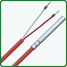 PT1000 / PT 1000 Temperatursensor Temperaturfühler Widerstandsthermometer +250°C