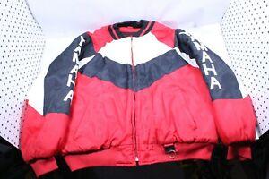 Vintage Yamaha Red/White Snow Winter Jacket Size Mens XXL, 2XL Ski