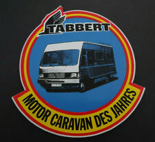 Aufkleber TABBERT Wohnmobil 560 E Caravan Oldtimer 80er Jahre Sticker