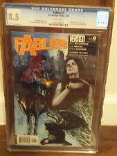 FABLES #1 CGC 8.5 (Vertigo Bill Willingham) Blue Cover