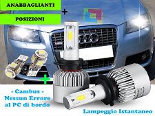 LAMPADE ANABBAGLIANTI + T10 POSIZIONI LED AUDI A3 8P 2003-2008 CREE