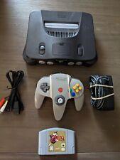Nintendo 64 N64 Bundle System/Console Zelda Ocarina OEM Controller New JoyStick!