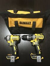 """New Dewalt 20v DCD796 1/2"""" Hammer Drill DCF887 1/4"""" Impact Drill Tool Bag"""